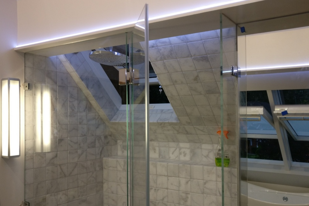 Szkło w łazience